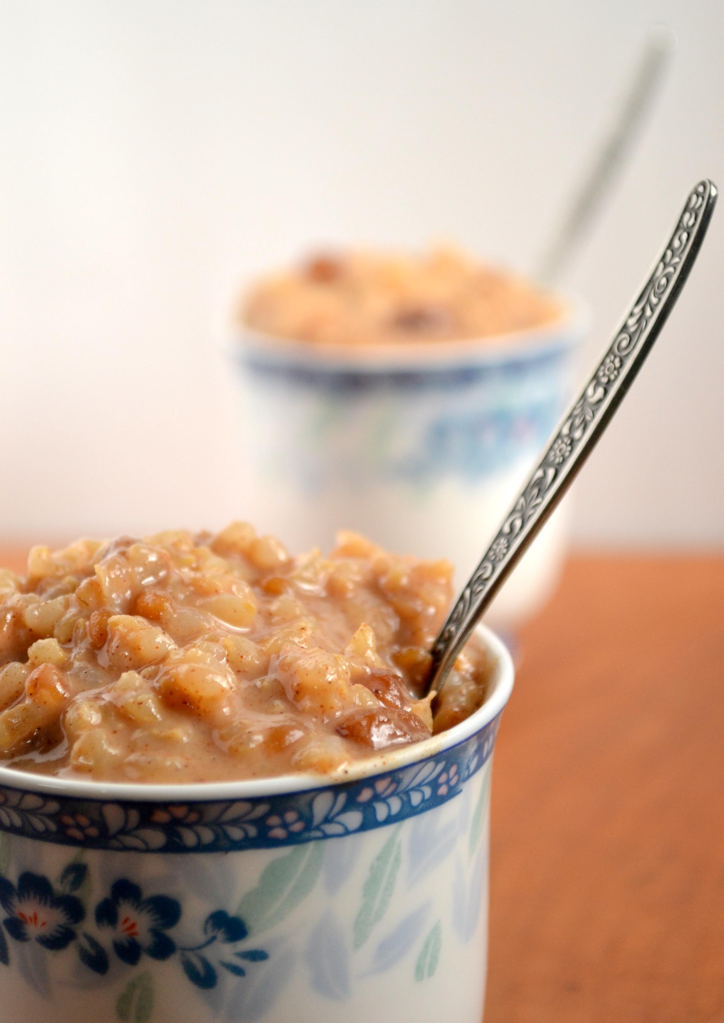 Cinnamon Raisin Brown Rice Pudding