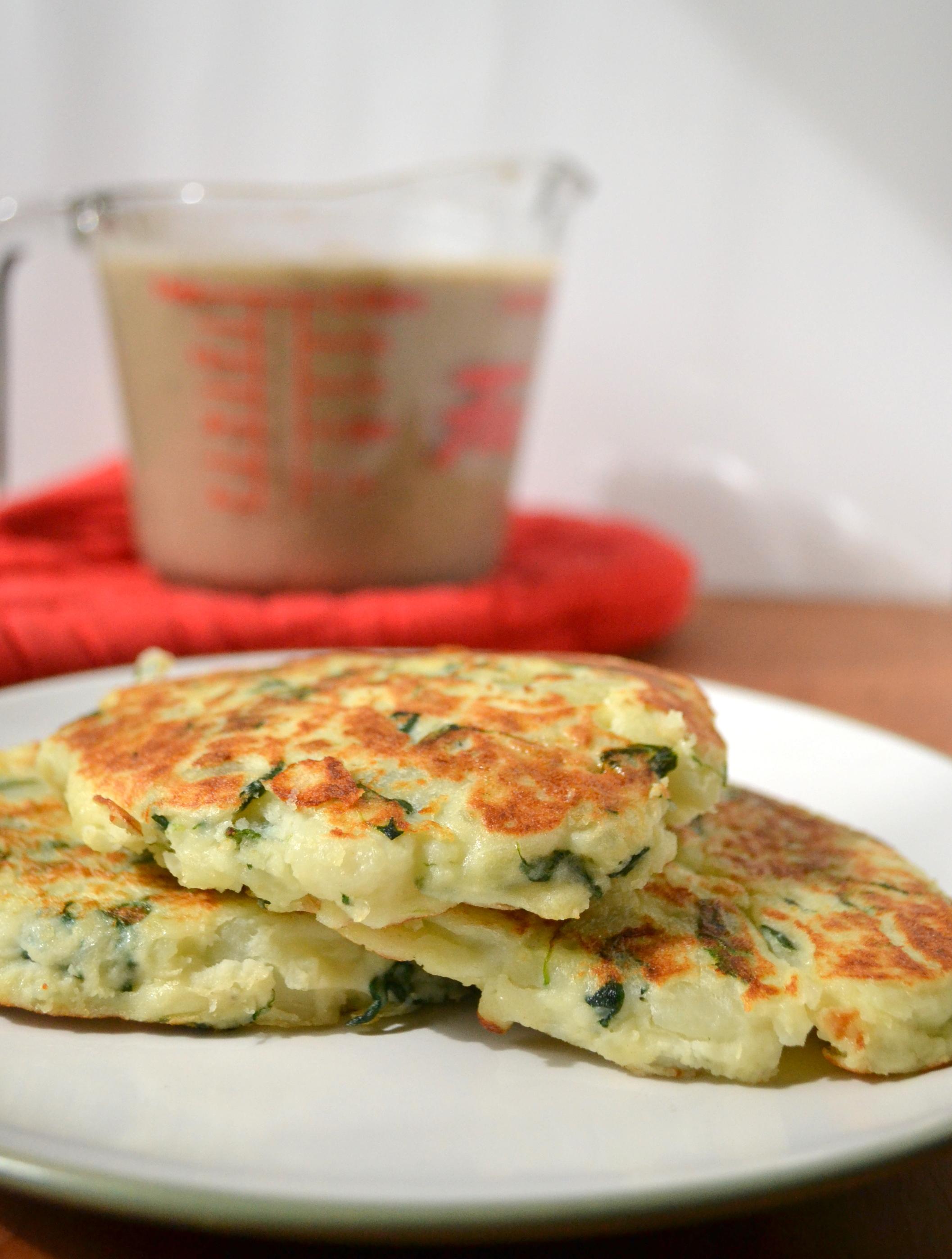 how to make mashed potato pancakes