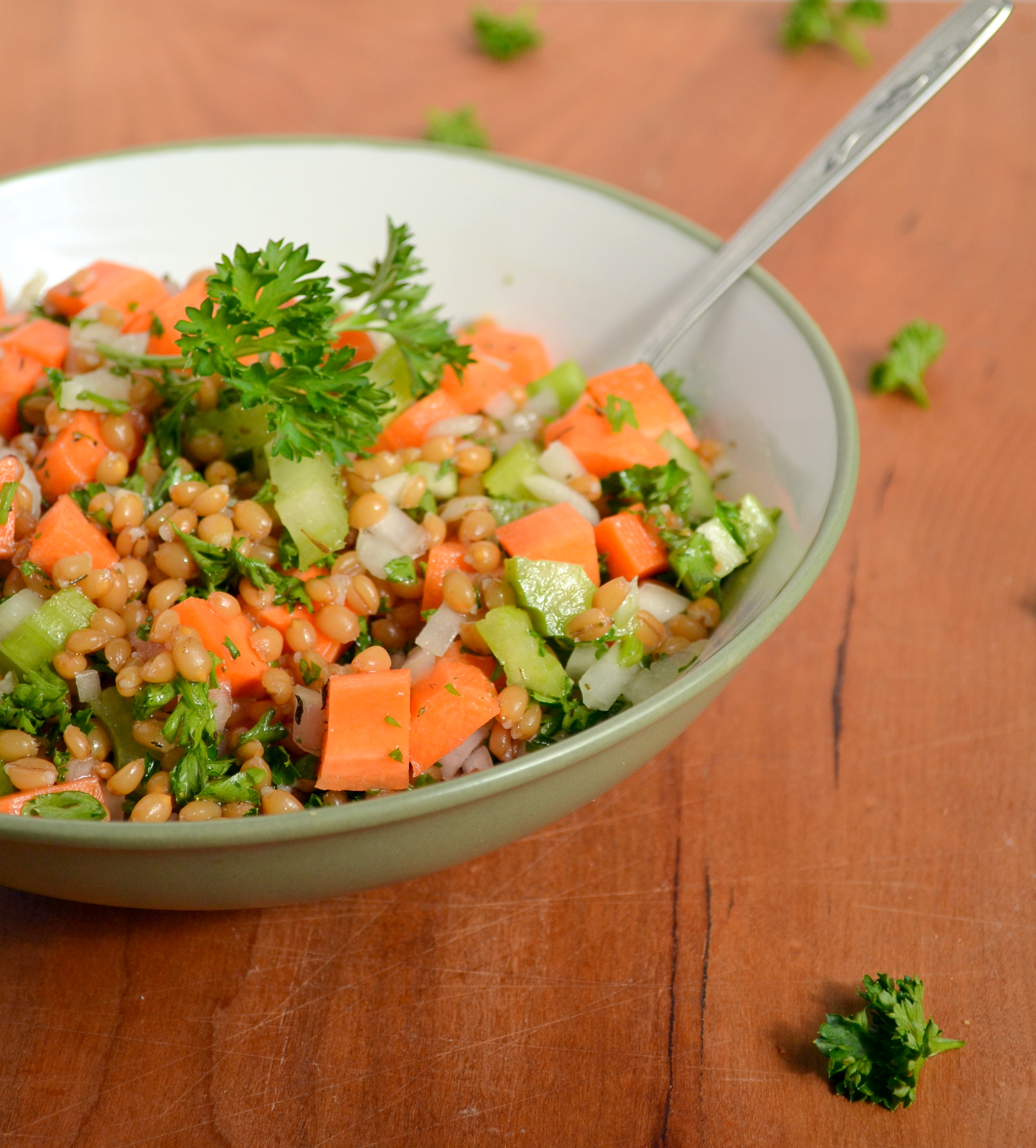 Wheat Berry Veggie Salad