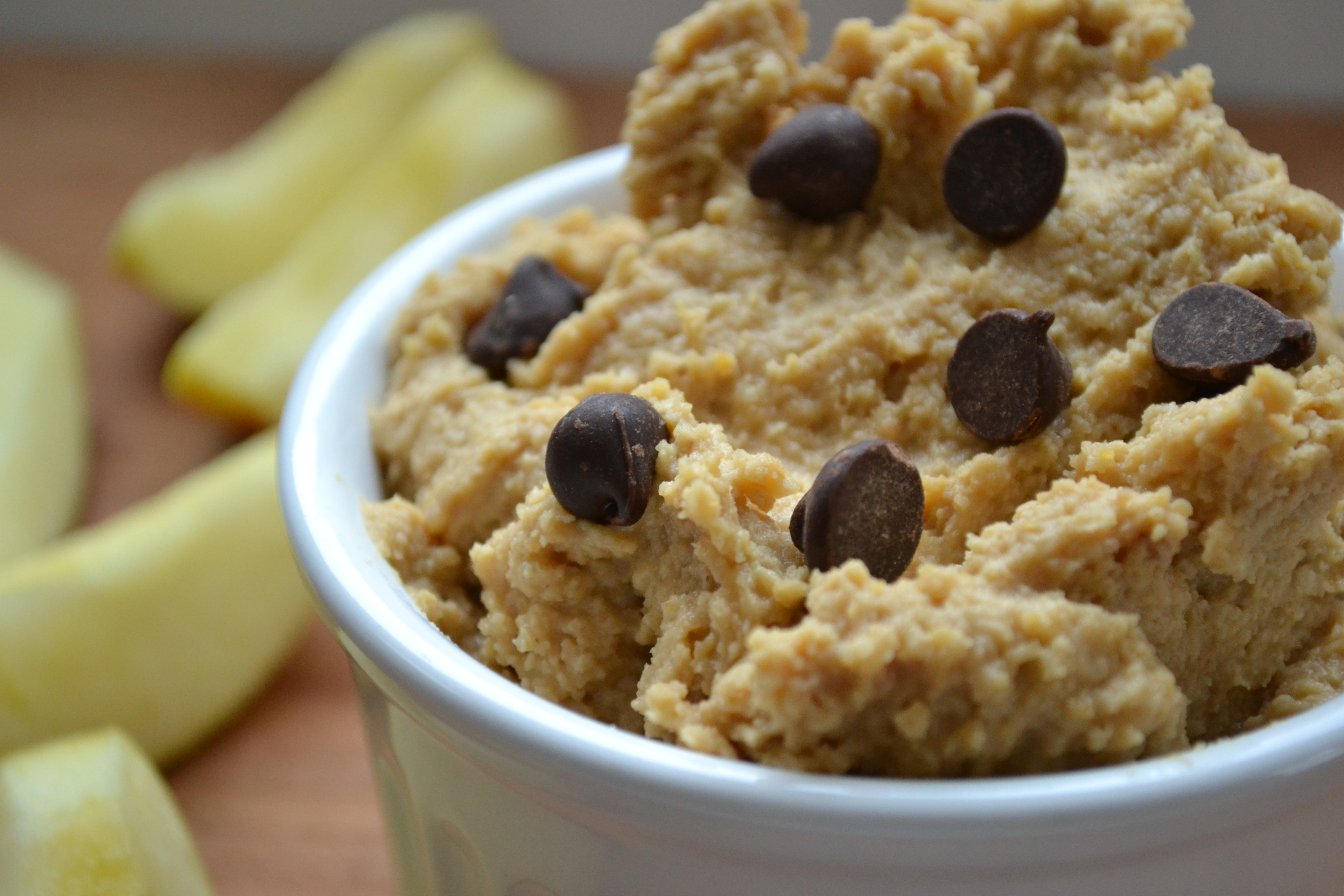 chickpeas 1/4 C natural peanut butter 1/4 C + 2 tbsp maple syrup ...
