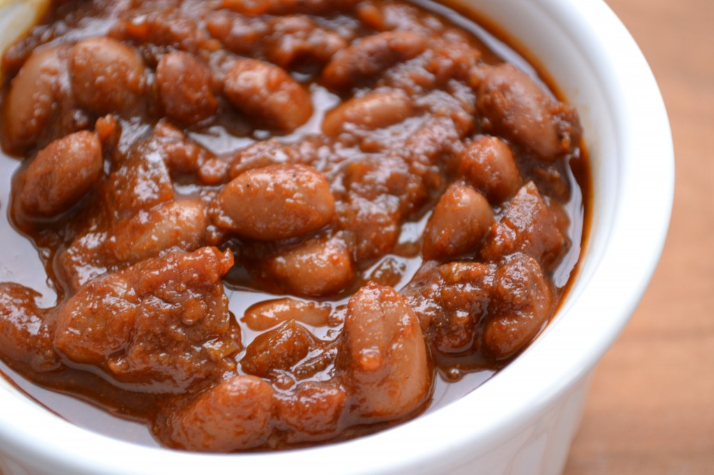 Tangy Baked Beans