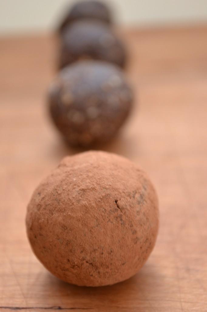 Chocolate Fig Truffles