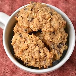 Thumbnail image for Vegan Peanut Butter Banana Chocolate Chunk Cookies