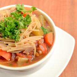 Thumbnail image for Simple Lentil Vegetable Stew