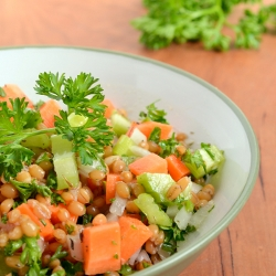 Thumbnail image for Wheat Berry Veggie Salad
