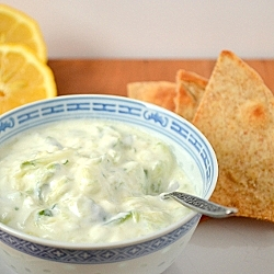 Thumbnail image for Tzatziki and Pita Chips