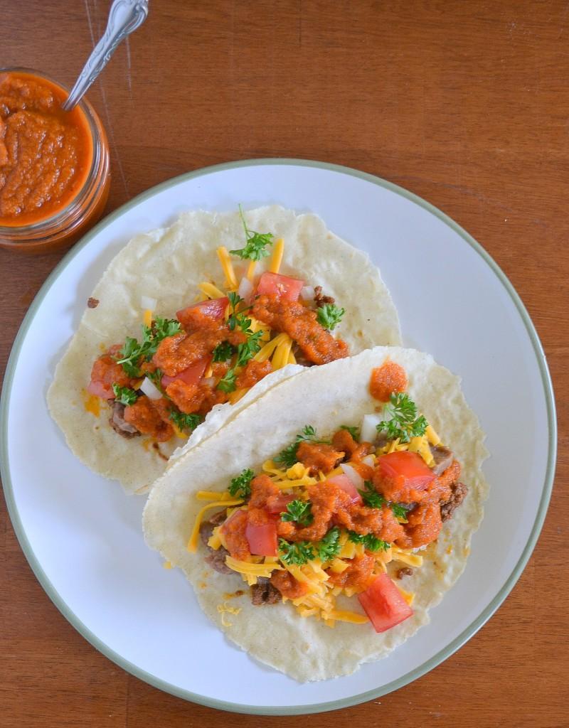 Homemade Corn Tortillas and Burrito Sauce