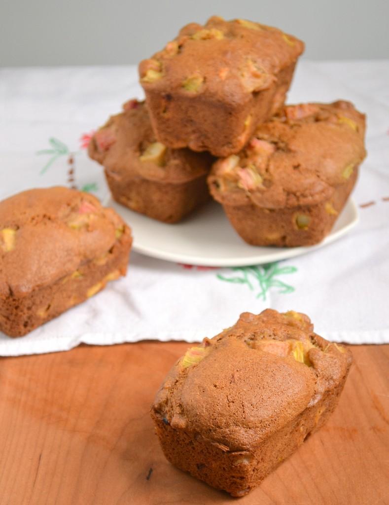 Rhubarb Muffins or Mini Loaves