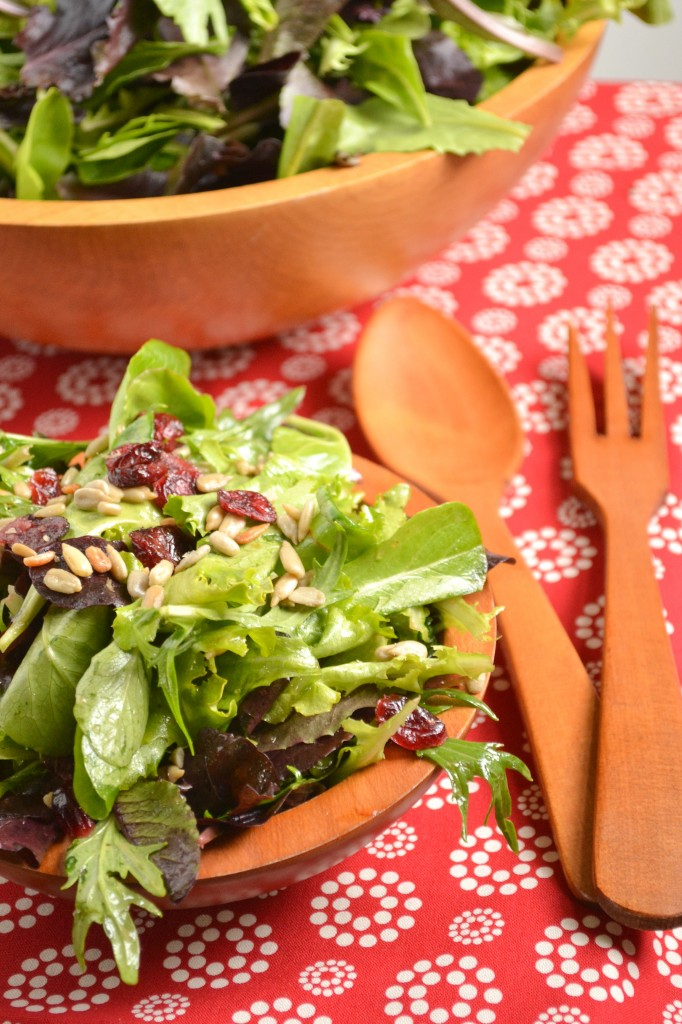 Cranberry Sunflower Seed Salad