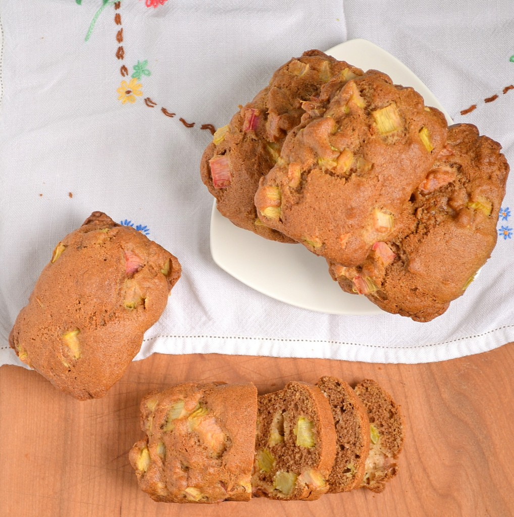 Rhubarb Muffins or Mini Loaves