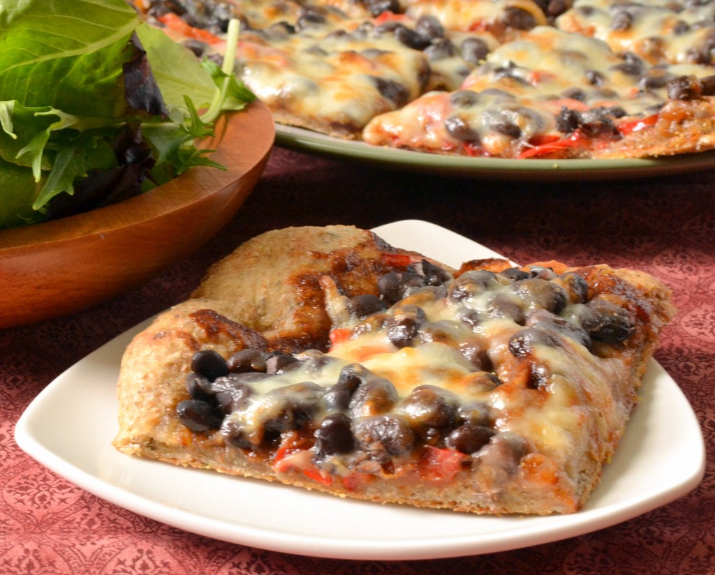 BBQ Black Bean Pizza