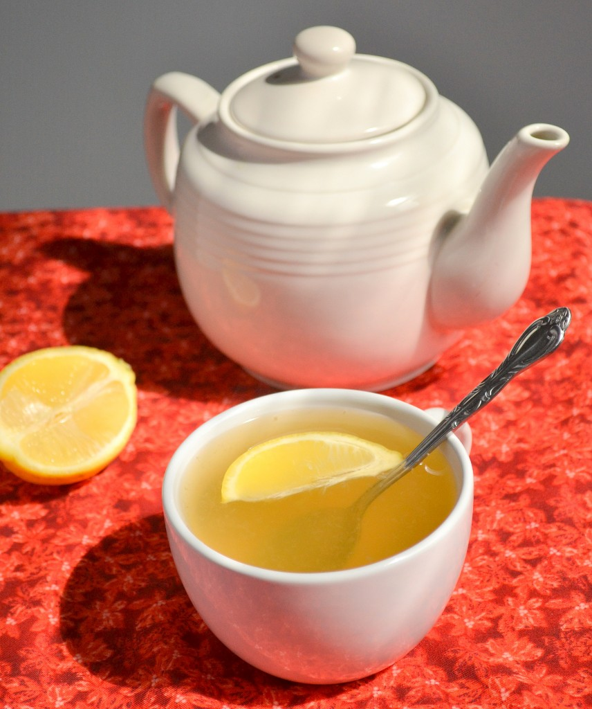 Lemon Ginger and Honey Tea