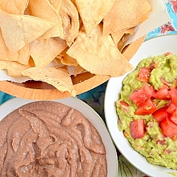 Thumbnail image for Refried Beans and Guacamole