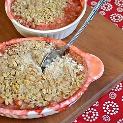 Thumbnail image for Strawberry Rhubarb Crisp