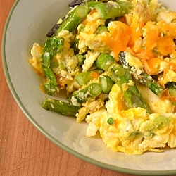 Thumbnail image for Asparagus Scramble