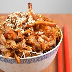 Thumbnail image for Napa Cabbage and Tofu Stir Fry