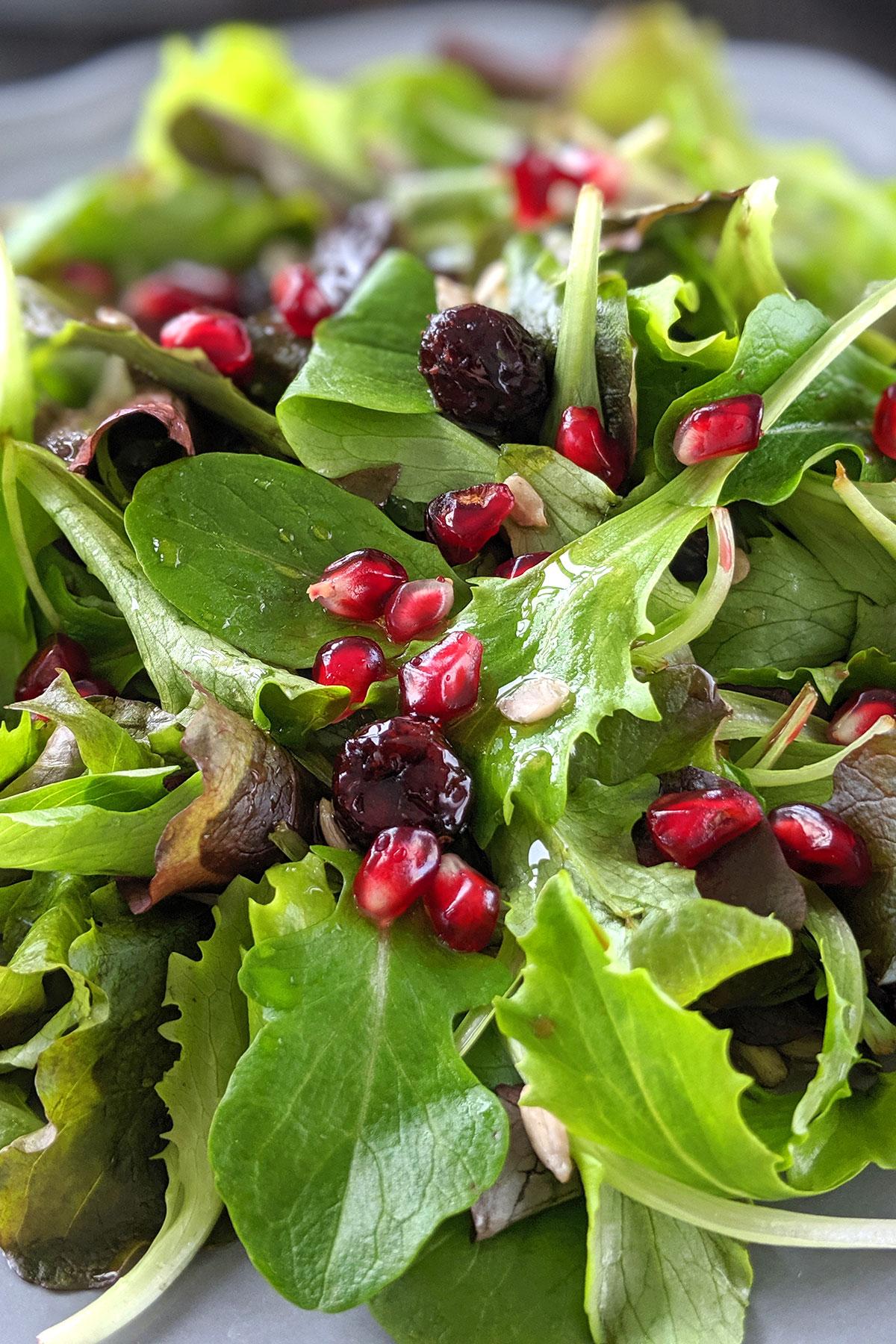 Sunflower Seed Salad (vegan, paleo)