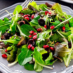 Thumbnail image for Sunflower Seed Salad with Cranberries