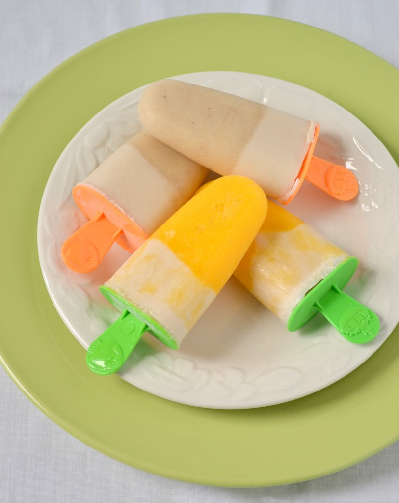 Healthy Vegan Creamsicles