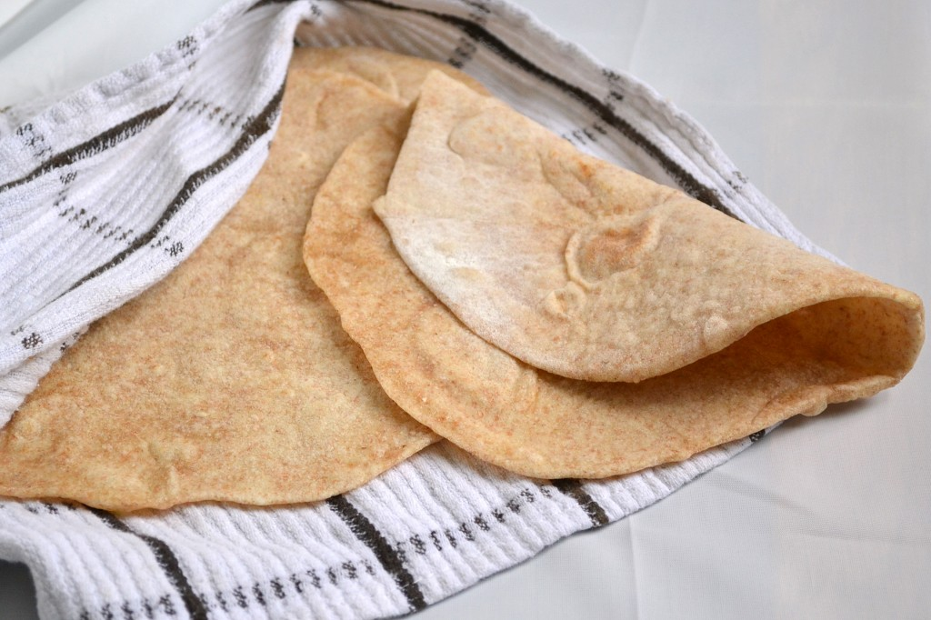 Small Batch Whole Wheat Flour Tortillas