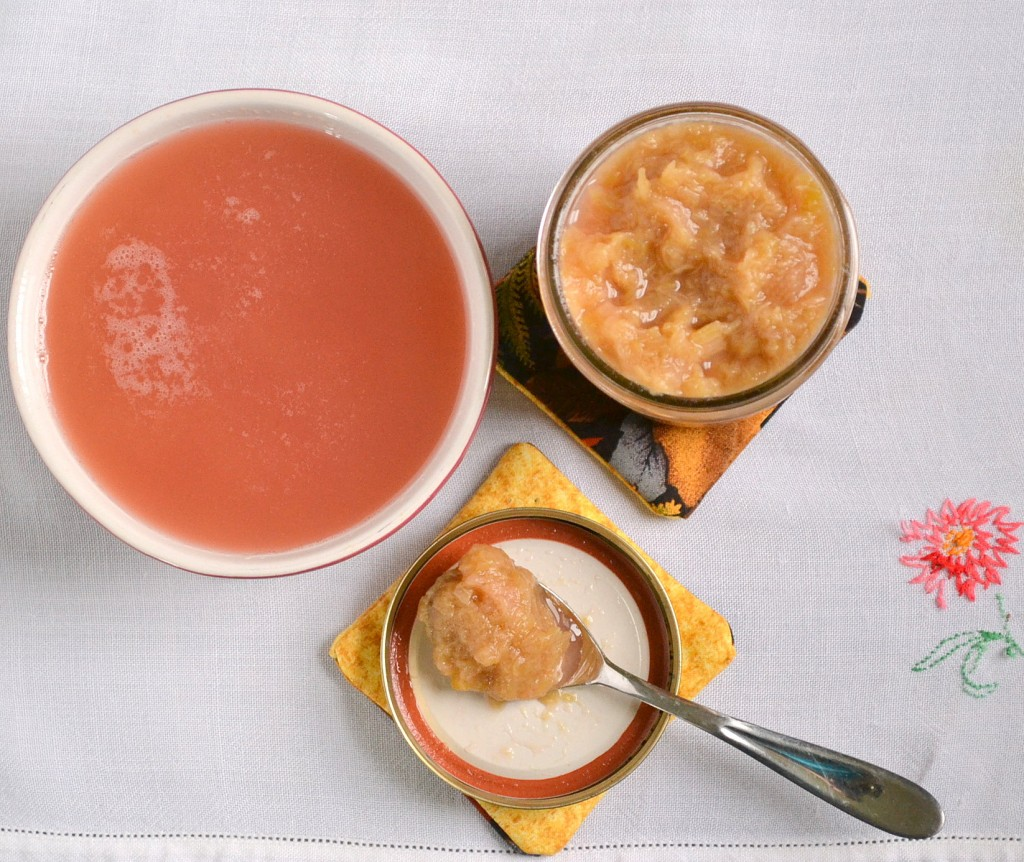 Honey Rhubarb Compote