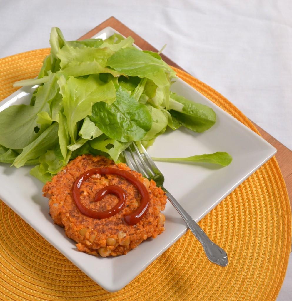 Quinoa Chickpea Burgers