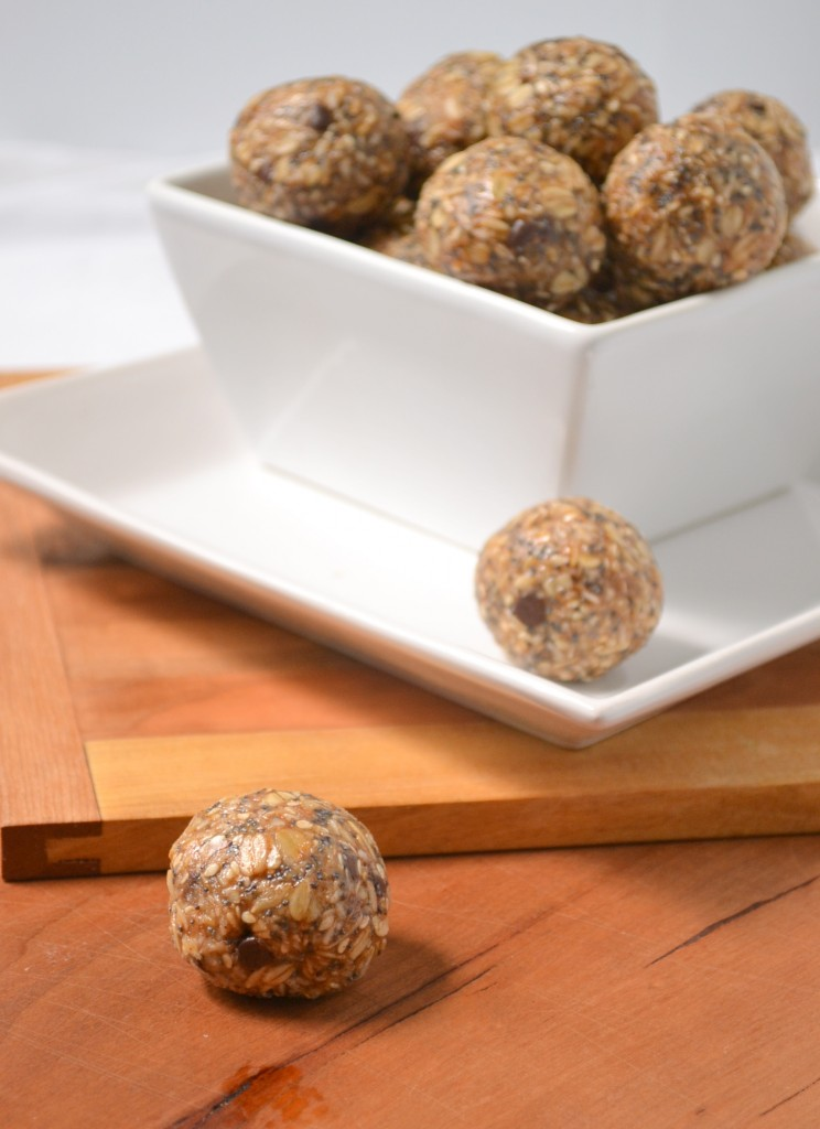 One Bowl, All Natural, No Bake Energy Bites
