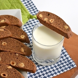 Thumbnail image for Spiced Mocha Hazelnut Biscotti