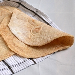 Thumbnail image for Small Batch Whole Wheat Flour Tortillas
