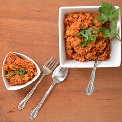 Thumbnail image for Quinoa Chickpea Pilaf