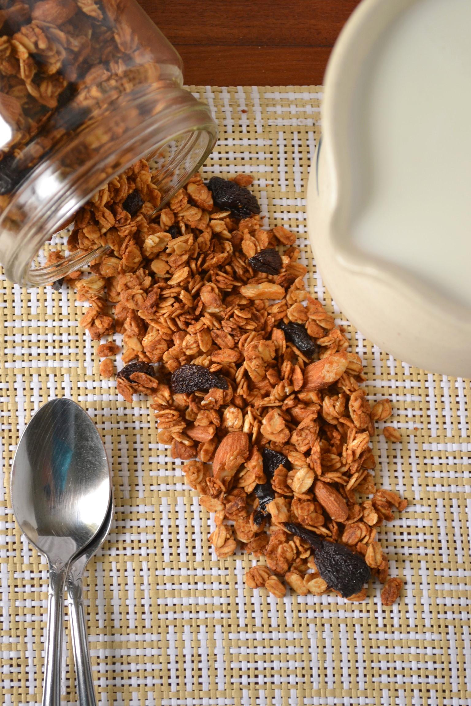 to cherry almond granola almond cherry granola cherry almond granola ...