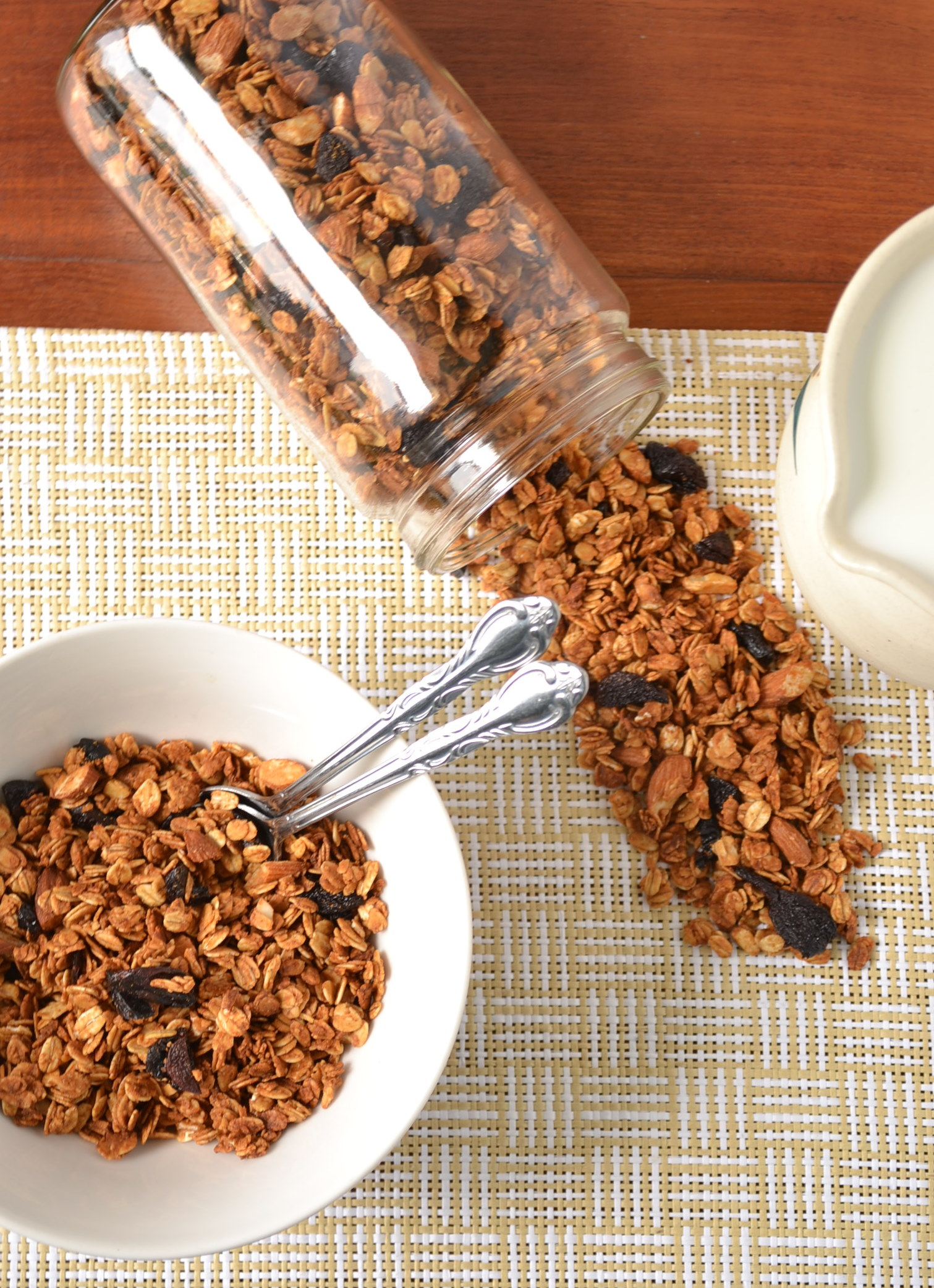 ... budget I'm sure just about anything will taste good in this granola