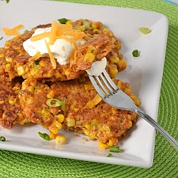 Thumbnail image for Tex-Mex Corn Fritters