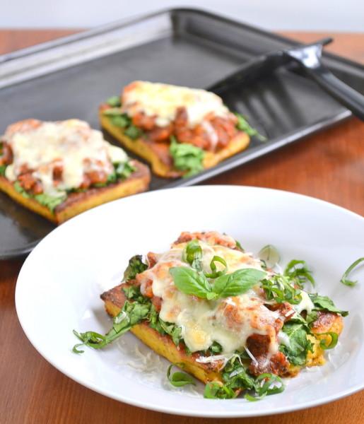 Everyone loves this polenta lasagna!