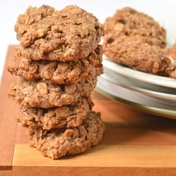 Thumbnail image for Spelt Oatmeal Raisin Cookies