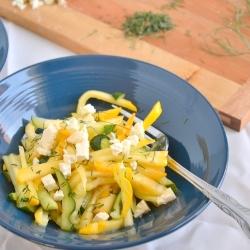 Thumbnail image for Marinated Summer Squash Salad