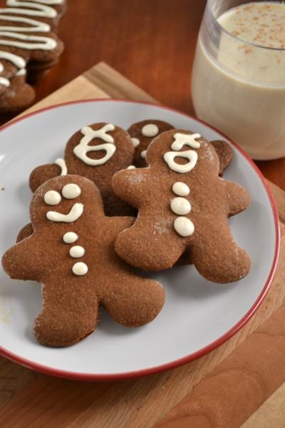 Whole Wheat Gingerbread Men