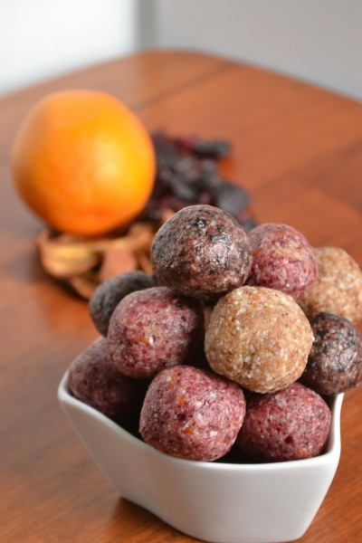 Fruity Coconut Cream Truffles and Dark Chocolate Almond Clusters