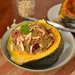 Thumbnail image for Quinoa Stuffing Stuffed Squash