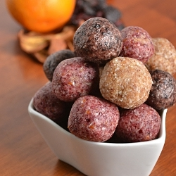 Thumbnail image for Fruity Coconut Cream Truffles and Dark Chocolate Almond Clusters