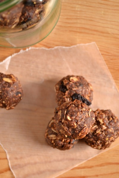 Chocolate No Bake Energy Bites