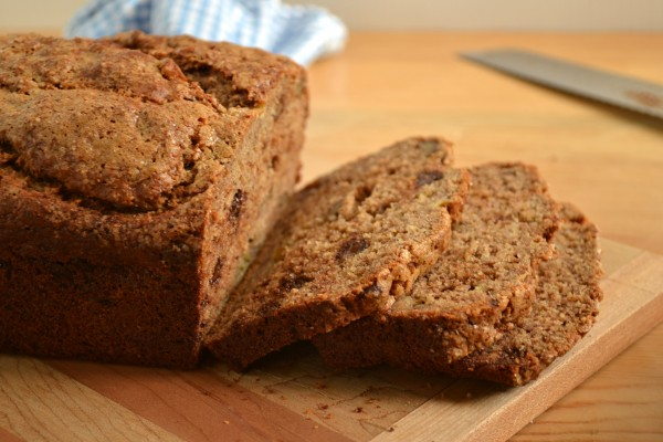 Spelt Banana Bread and a Grain Mill Review