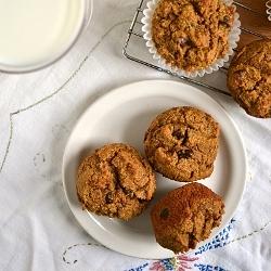 Thumbnail image for Multigrain Pumpkin Chocolate Chip Muffins