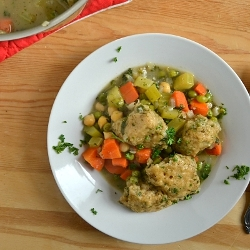 Thumbnail image for Vegetarian Stew with Dumplings