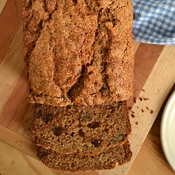Thumbnail image for Spelt Banana Bread and a Grain Mill Review