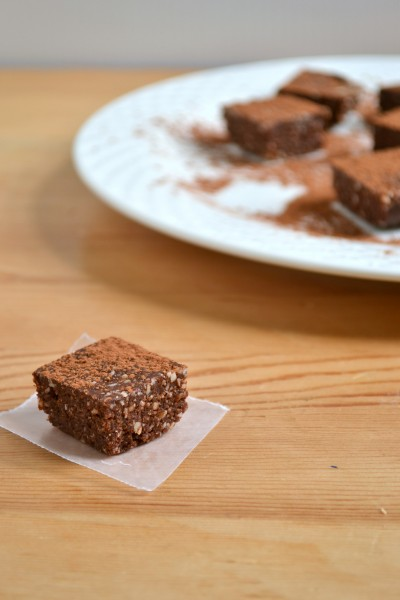 Raw Vegan Coconut Brownies