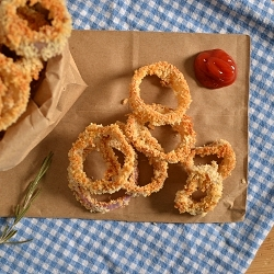 Thumbnail image for Baked Rosemary Onion Rings