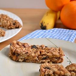 Thumbnail image for No-Bake Cherry Almond Granola Bars