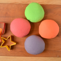 Thumbnail image for Smelly Playdough and Keeping Kids Busy in the Kitchen