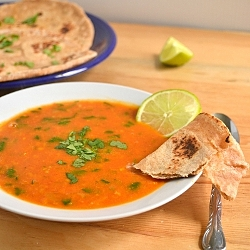 Thumbnail image for Tomato and Red Lentil Bisque and a Cookbook Review